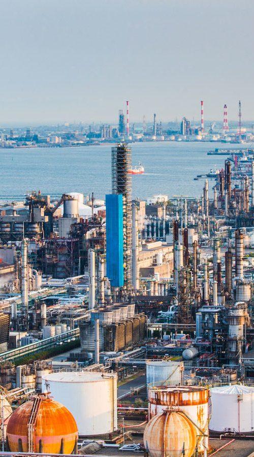 Großfabrik in Japan